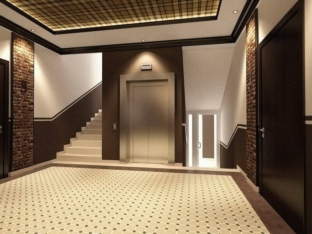 Дизайн подъездов многоквартирного дома