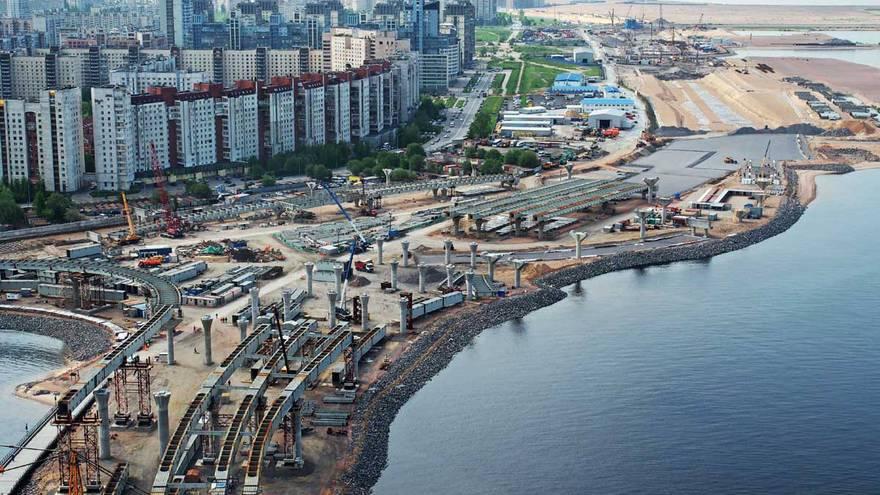 Западный скоростной диаметр (ЗСД) - новая скорость жизни в Санкт-Петербурге