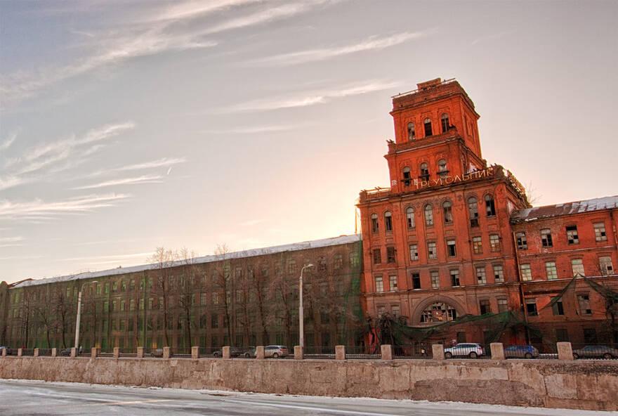 Завод «Красный треугольник» на Обводном канале