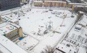 ЖК «Малоохтинский, 68»: ход строительства