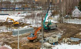 ЖК «Заречный парк»: ход строительства корпуса №2
