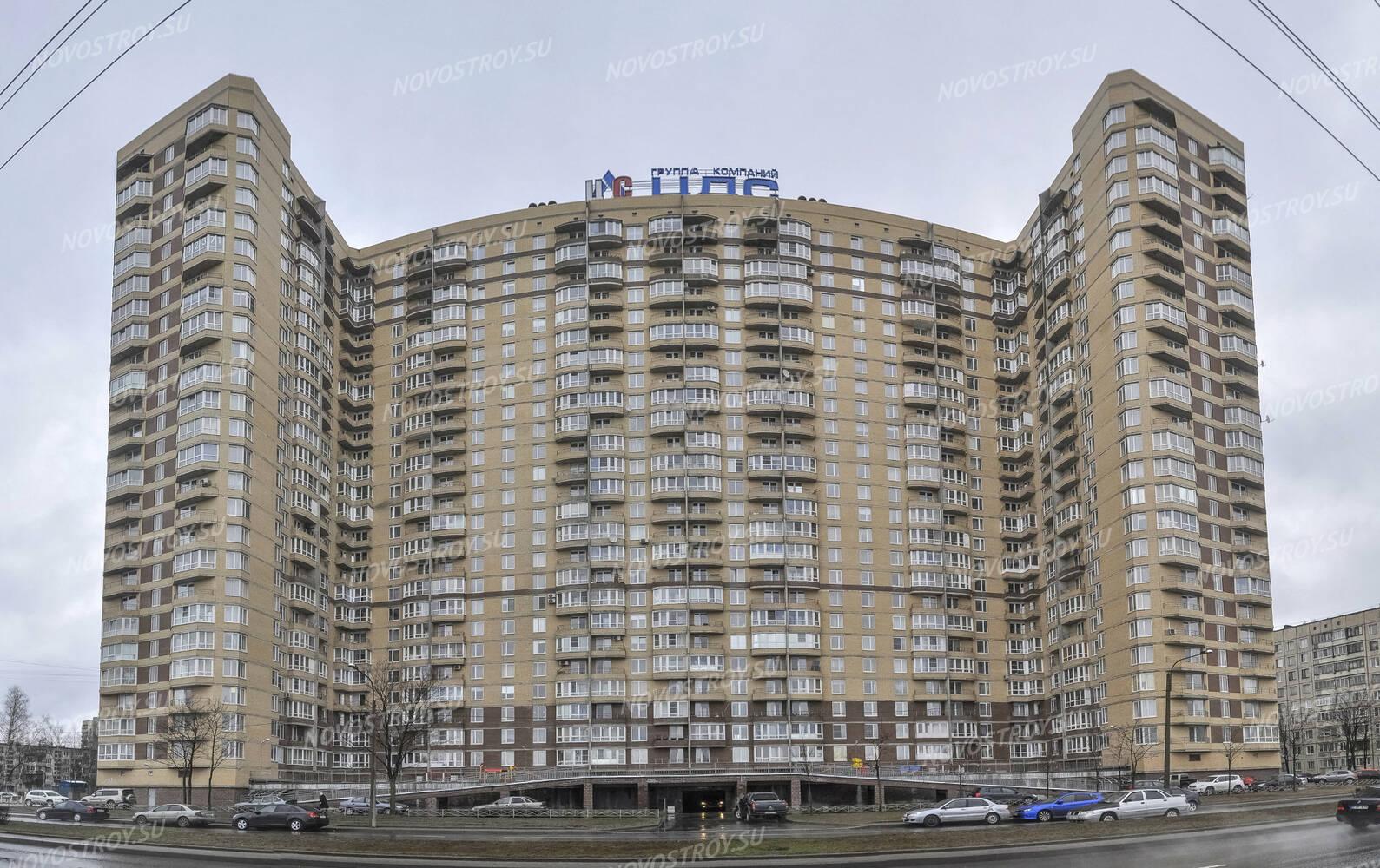 новые дома на луначарского в санкт-петербурге