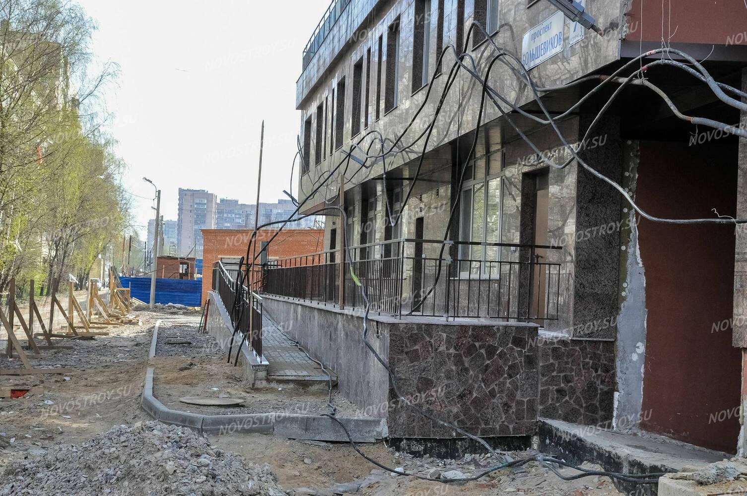 бетон большевиков