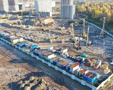 ЖК «Заповедный парк», Апрель 2021