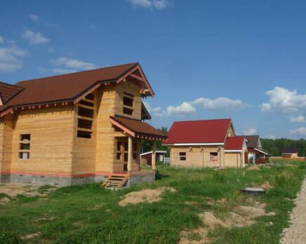 Коттеджный поселок «Долина Озер», Октябрь 2013