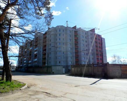 Дом на ул. Азаровской, 22, Октябрь 2013