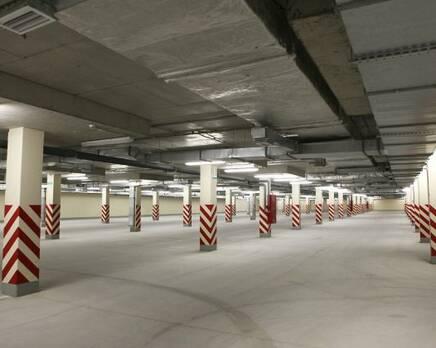 ЖК «Union»: паркинг, Апрель 2016