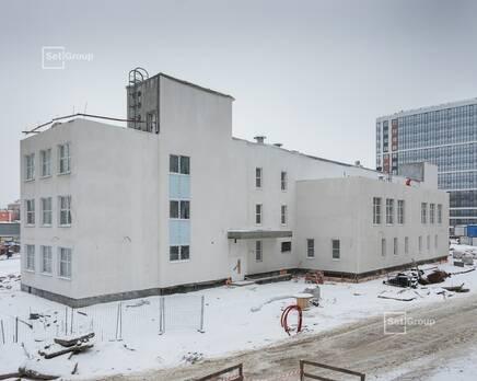 ЖК «Стрижи в Невском»: ход строительства ДОУ, Февраль 2021