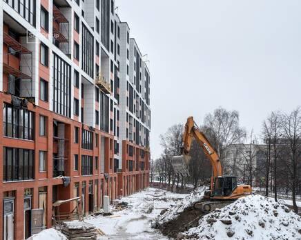 ЖК «Стрижи в Невском»: ход строительства корпус 2, Февраль 2021