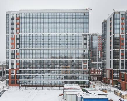 ЖК «Стрижи в Невском»: ход строительства корпус 3, Февраль 2021