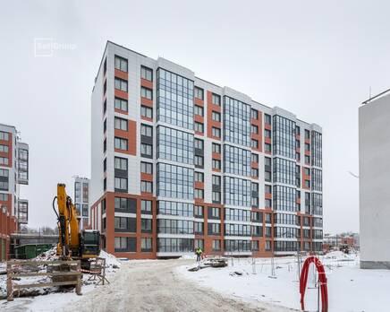 ЖК «Стрижи в Невском»: ход строительства корпус 4, Февраль 2021