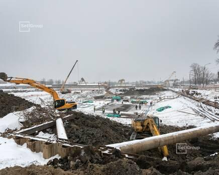 ЖК «Автограф в центре»: ход строительства, Февраль 2021