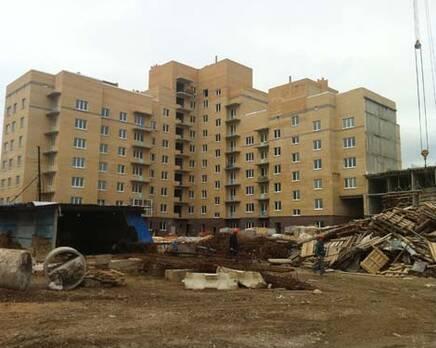 Ход строительства, Ноябрь 2011