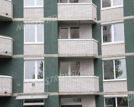 Фасад ЖК «Дом у Речного вокзала» (20.06.2013 г.), Июль 2013