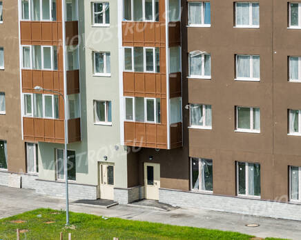 ЖК «Union»: входная группа и придомовая территория (04.07.2015), Июль 2015