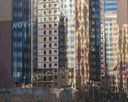 ЖК «Линкор»: фасады 1, 3 и 5 корпусов (08.11.2015), Ноябрь 2015