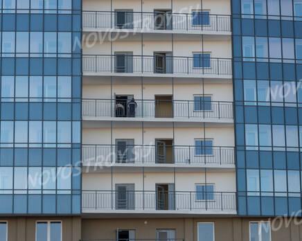 ЖК «Линкор»: фасад 1 корпуса (08.11.2015), Ноябрь 2015