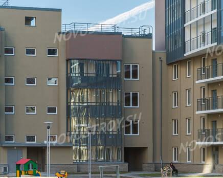 ЖК «Линкор»: фасад 4 корпуса (08.11.2015), Ноябрь 2015