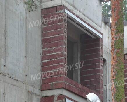 ЖК «Булгаков»: фасад (08.11.2015), Ноябрь 2015
