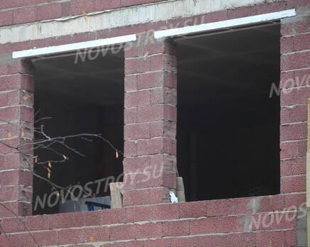 ЖК «Булгаков»: оконные проемы (08.11.2015), Ноябрь 2015