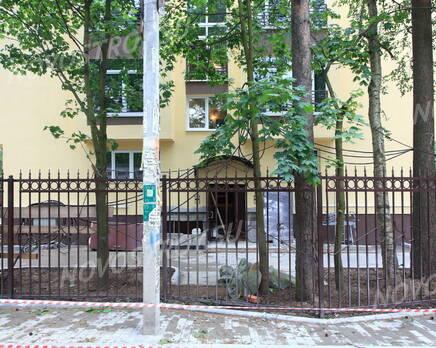 Малоэтажный ЖК «Булгаков»: вид   с ул. Константиновская, Июль 2016