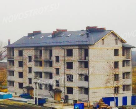 Малоэтажный ЖК «на улице Гурьевская»: ход строительства, Ноябрь 2016