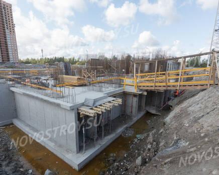 ЖК «Северная долина»: ход строительства квартала №21, Сентябрь 2019