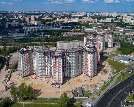 ЖК «Дом на Блюхера»: ход строительства, Сентябрь 2019
