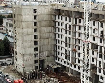ЖК «Дом у Каретного моста»: ход строительства, Сентябрь 2019