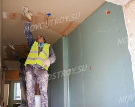 ЖК «Ренессанс»: ход строительства 3 очереди из группы застройщика, Июль 2020