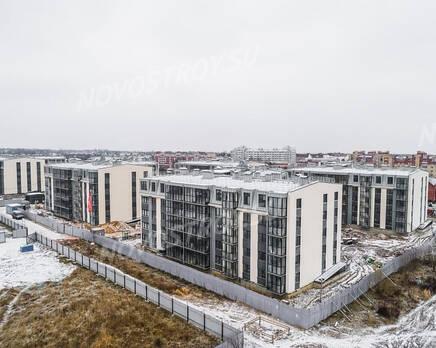 ЖК «UP-квартал «Пушкинский»: ход строительства, Январь 2021