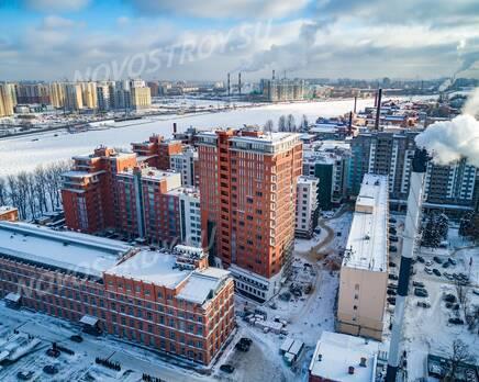 ЖК «Эталон на Неве»: ход строительства, Март 2021