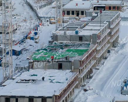 ЖК «Lampo»: ход строительства, Март 2021