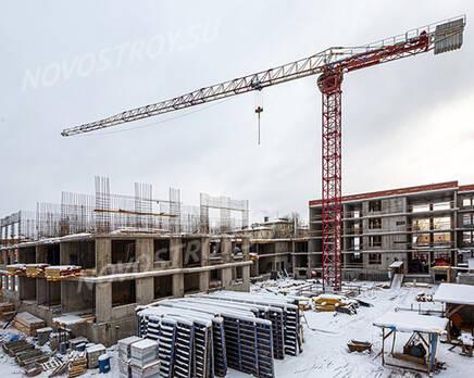 МЖК ЦДС «Волковский»: ход строительства, Март 2021