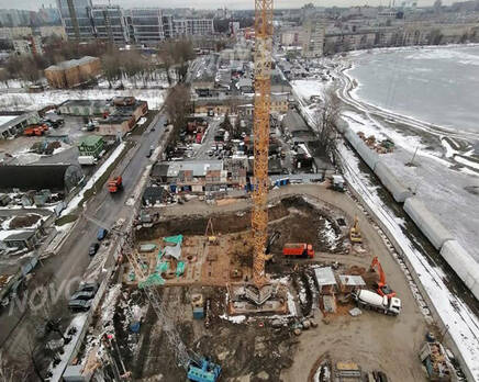 МФК «Начало»: ход строительства, Март 2021