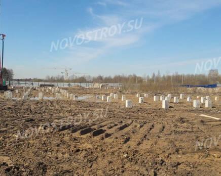 МЖК «Любоград»: ход строительства корпуса №1, Май 2021