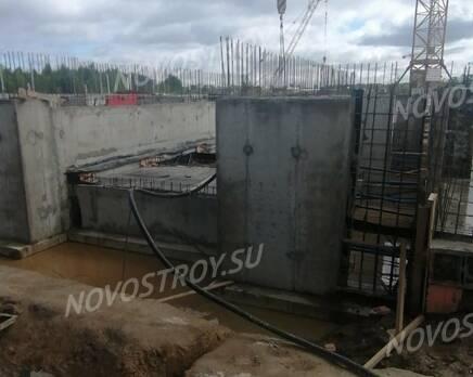 МЖК «Любоград»: ход строительства корпуса №1, Июнь 2021