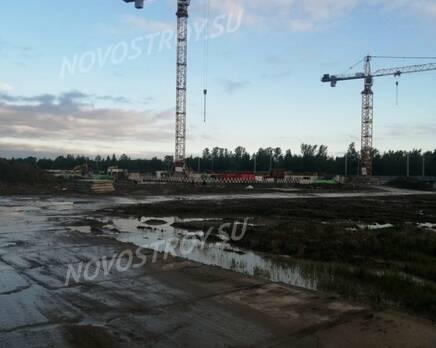 МЖК «Любоград»: ход строительства корпуса №2, Июнь 2021