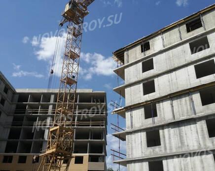 ЖК «Жукова 18»: ход строительства, Июль 2021
