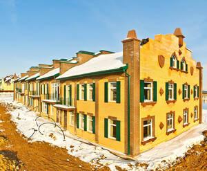 Строительство квартала таунхаусов «Кронбург»