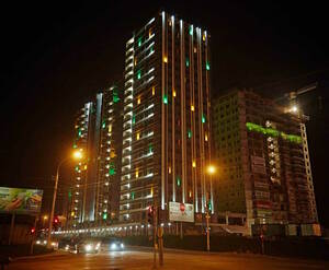 Подсветка жилого комплекса