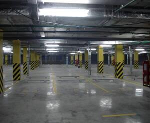 Паркинг в ЖК «RIO» (февраль 2015 г.)