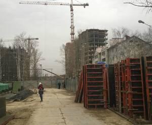 Строительство ЖК «Космическая гавань»