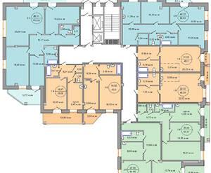 Планировки 8-16 этажи