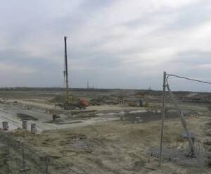 Строительство ЖК «Образцовый квартал» в рамках проекта «На Царскосельских холмах» (май 2015)