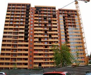 ЖК «Green City»: 06.09.2015 - Строящийся корпус, вид со двора