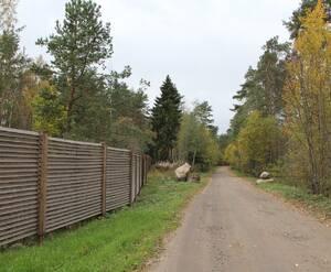 Огорождение КП «Сосновские озера-2»