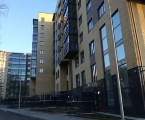 ЖК «Шведская крона»: общий вид корпусов 10-11 со стороны Удельного парка