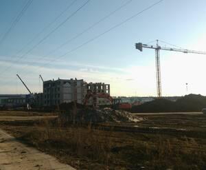 «Шолохово»: строительная площадка