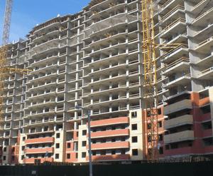 «Батарейный»: строительная площадка
